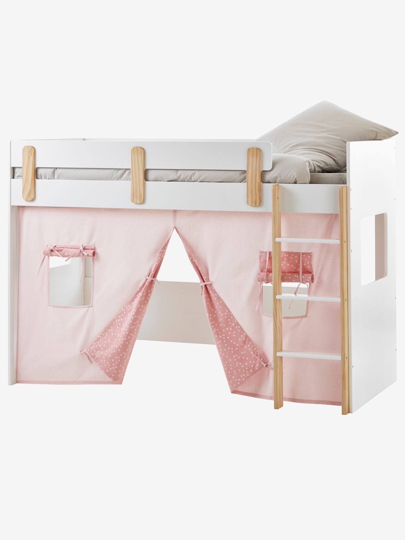 Lit enfant en hauteur best lit mi hauteur garcon lit - Tente pour lit mi hauteur ...