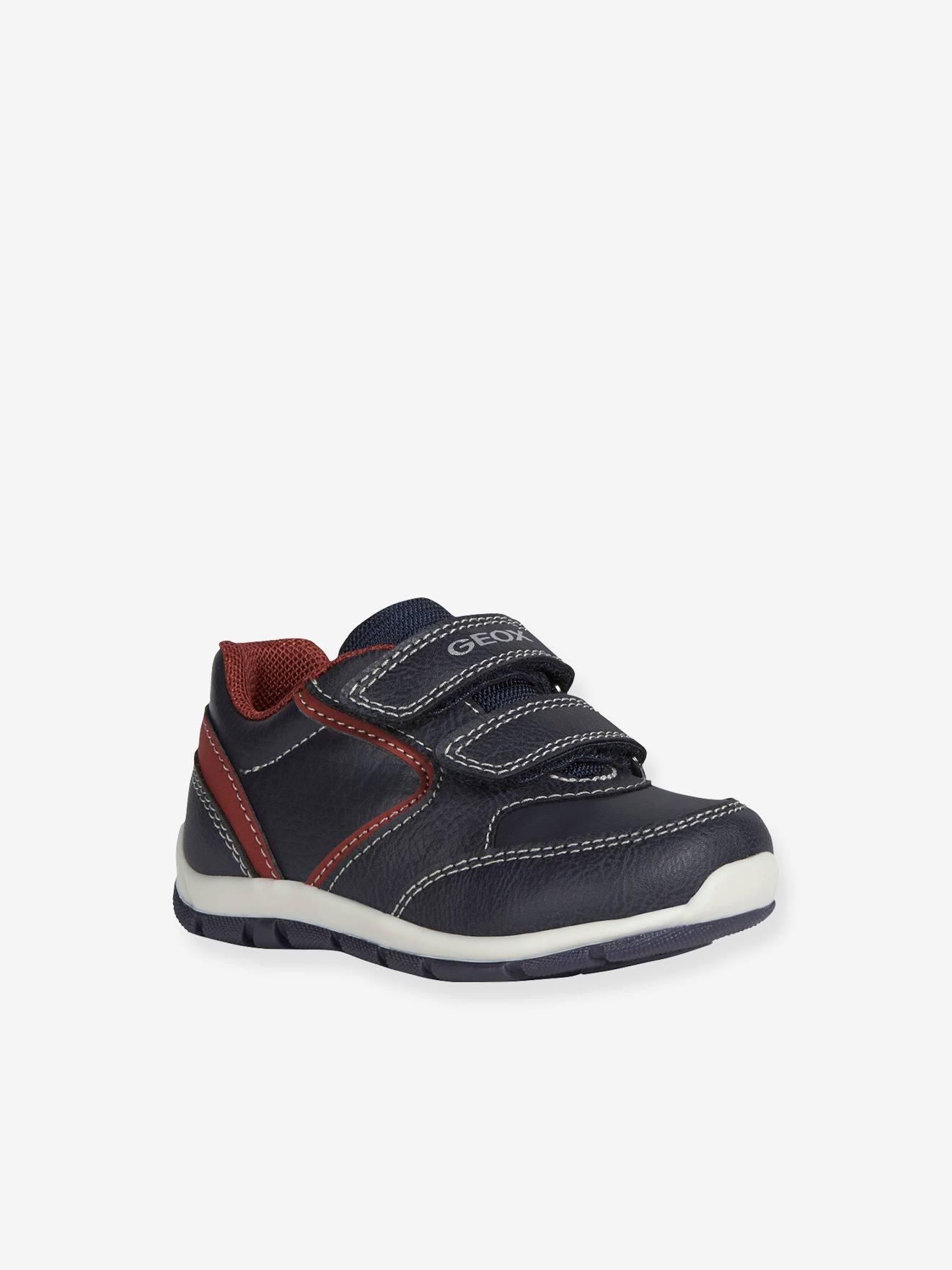 Baskets bébé garçon Heira Boy GEOX® bleu/rouge