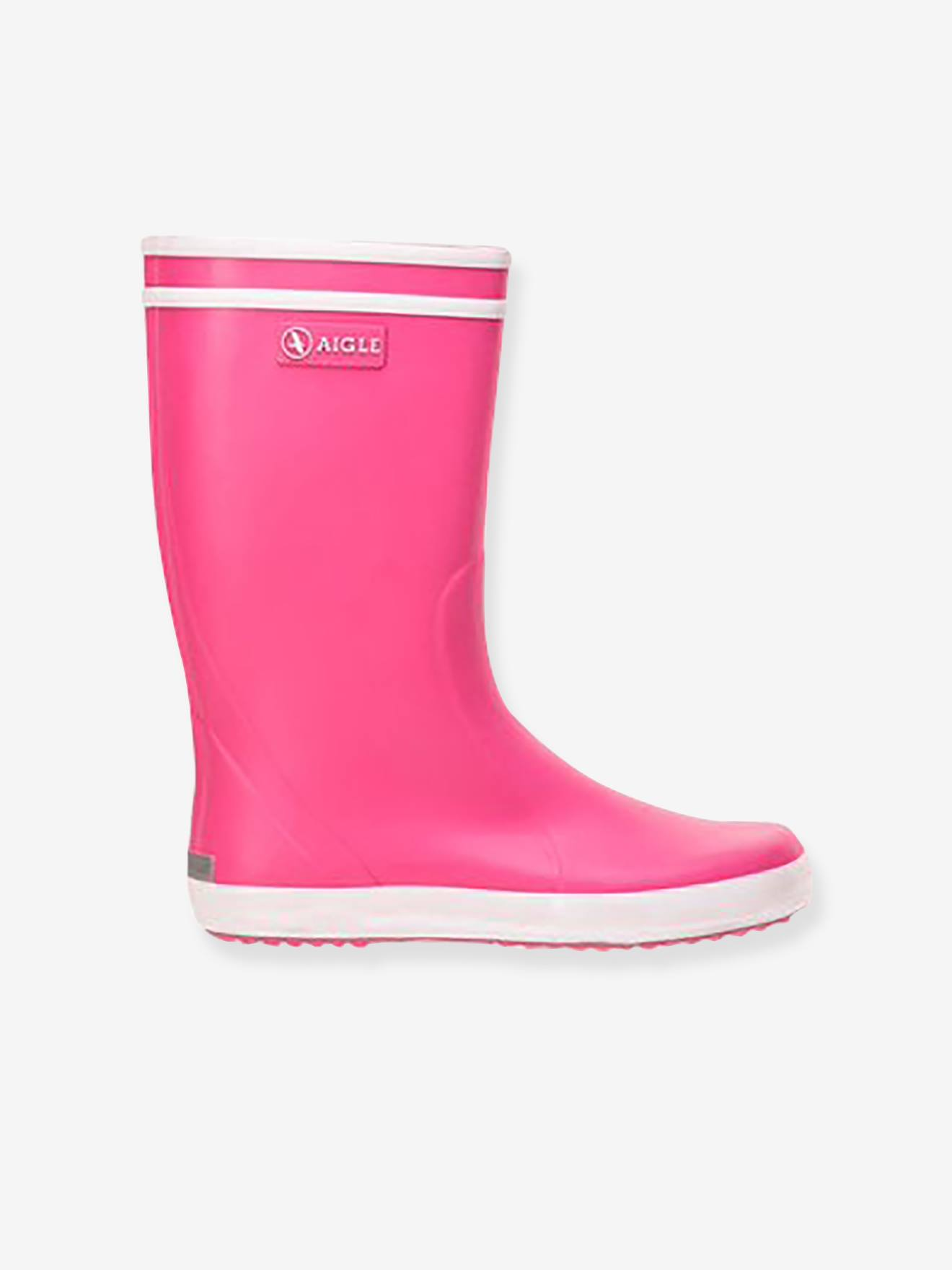 bottes pluie enfant aigle rose