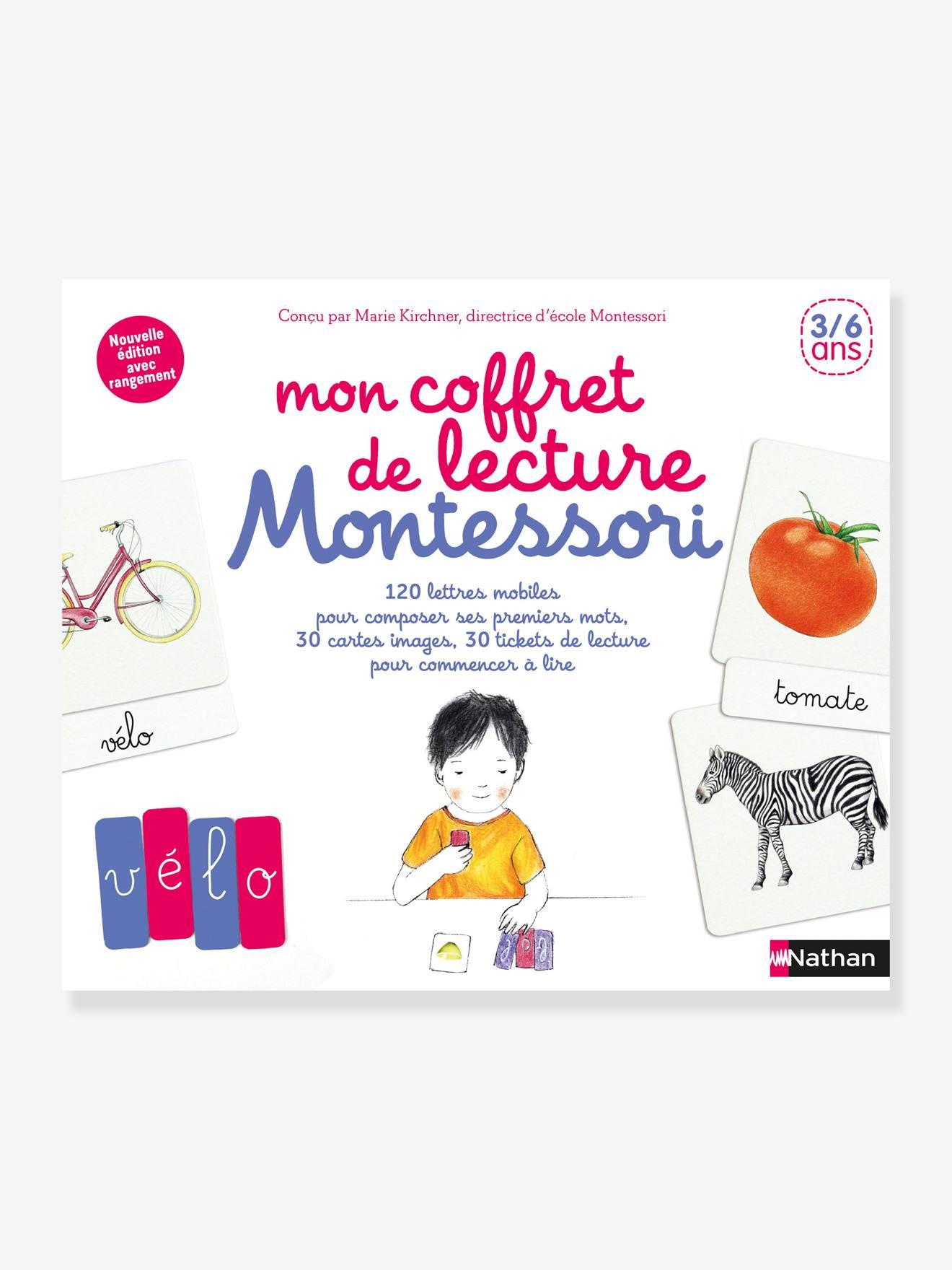 Coffret éducatif Mon coffret de lecture Montessori NATHAN