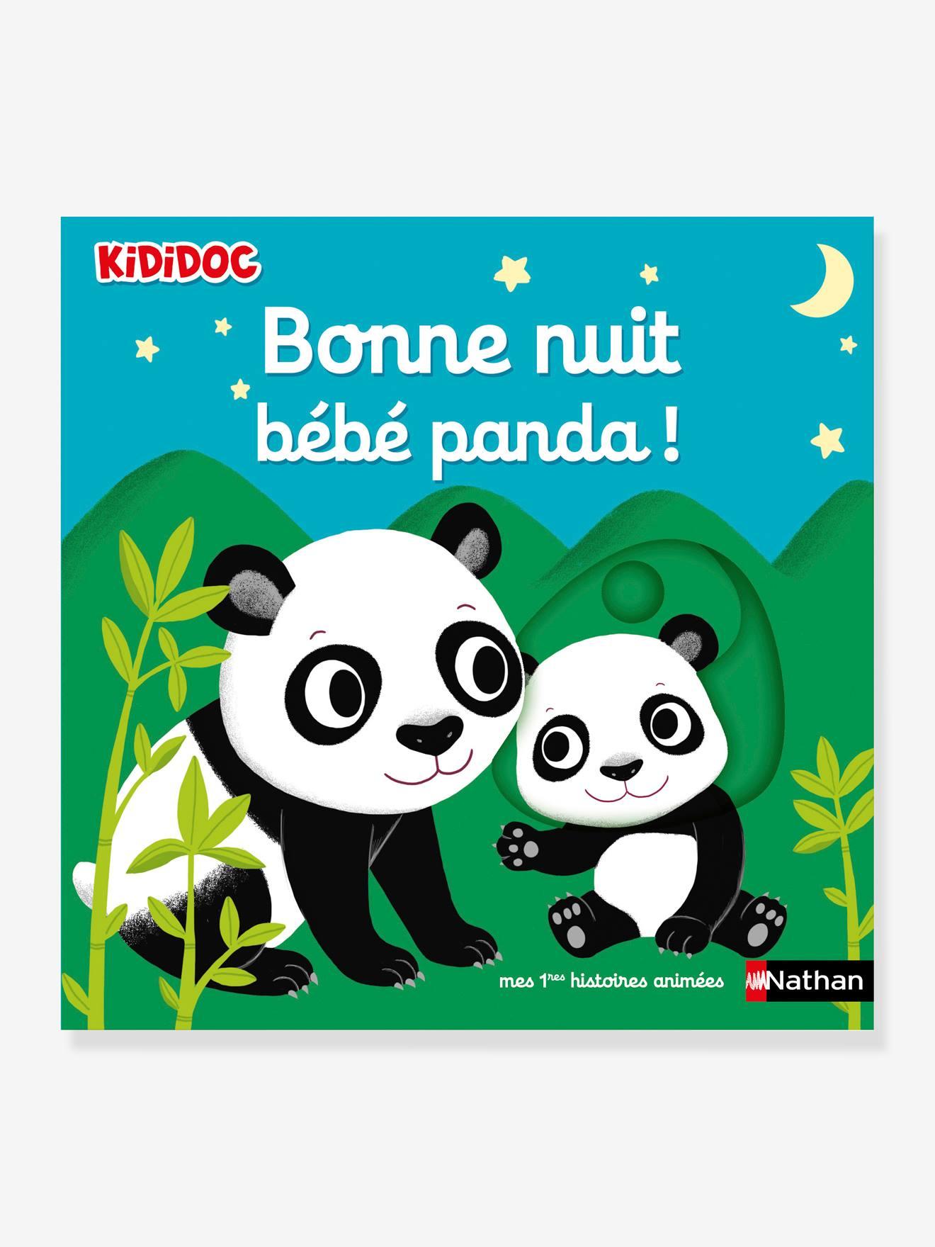 KiDiDOC – Bonne nuit bébé panda ! NATHAN
