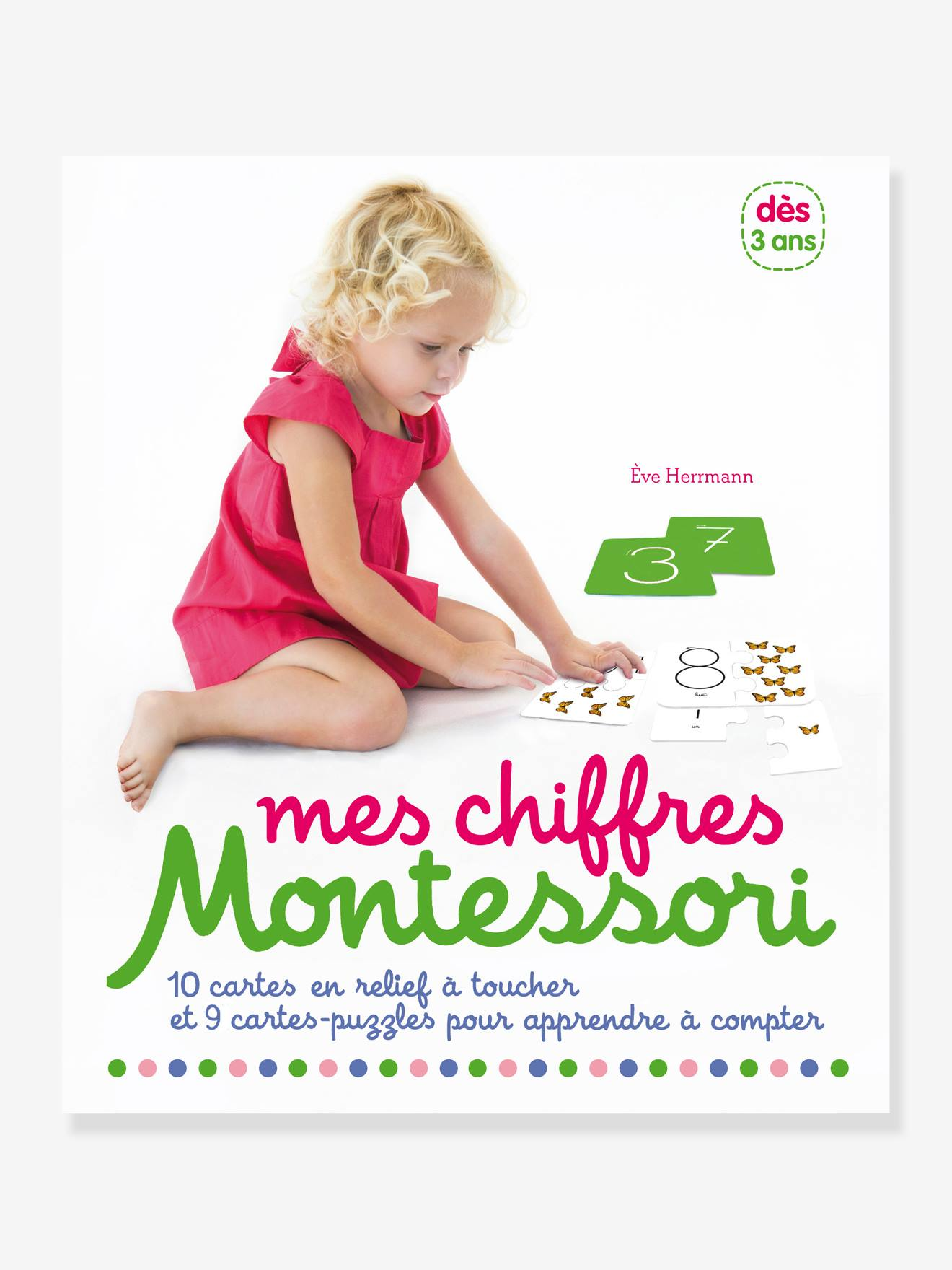 Coffret éducatif Mes chiffres Montessori NATHAN