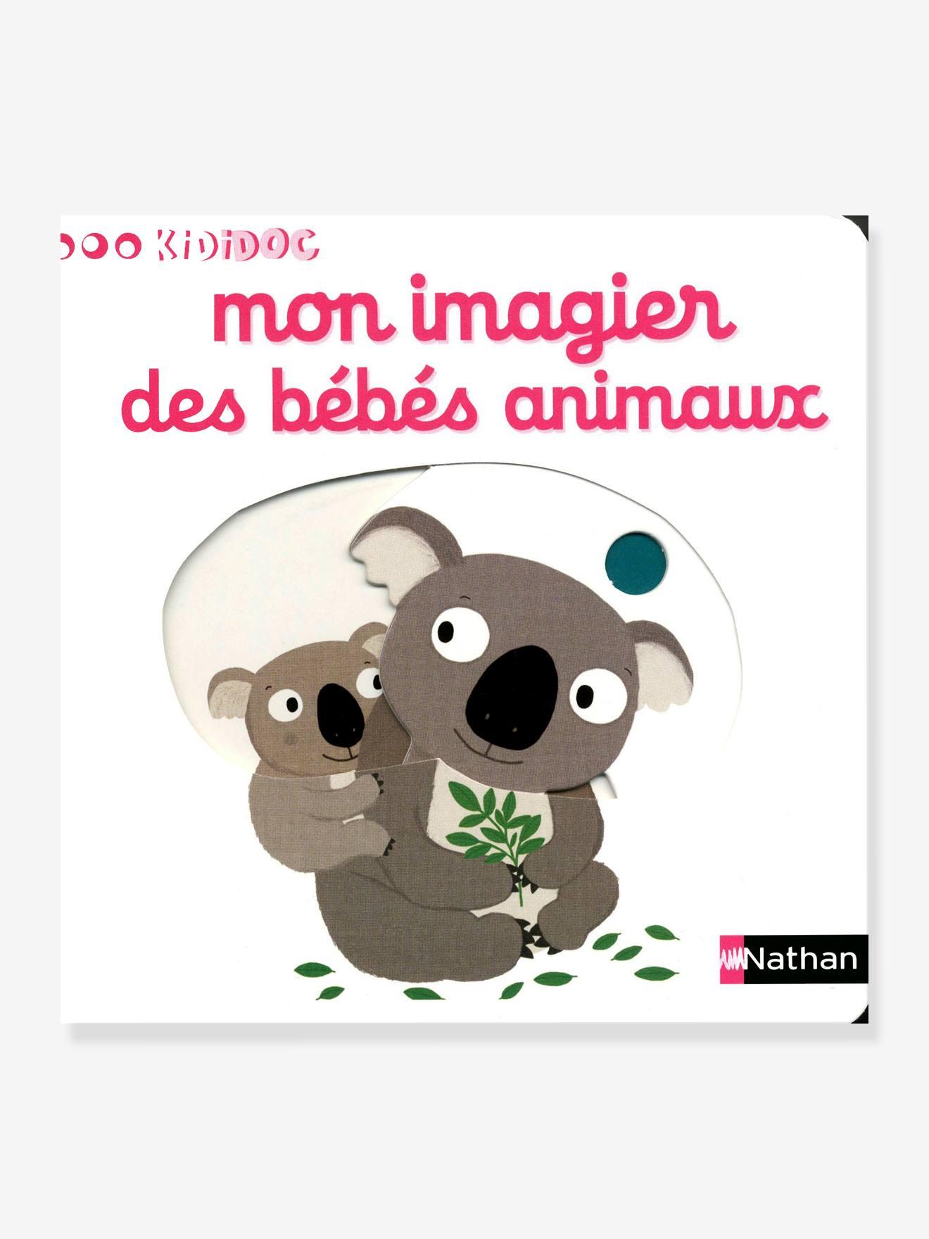 Livre KiDiDOC - Mon imagier des bébés animaux NATHAN