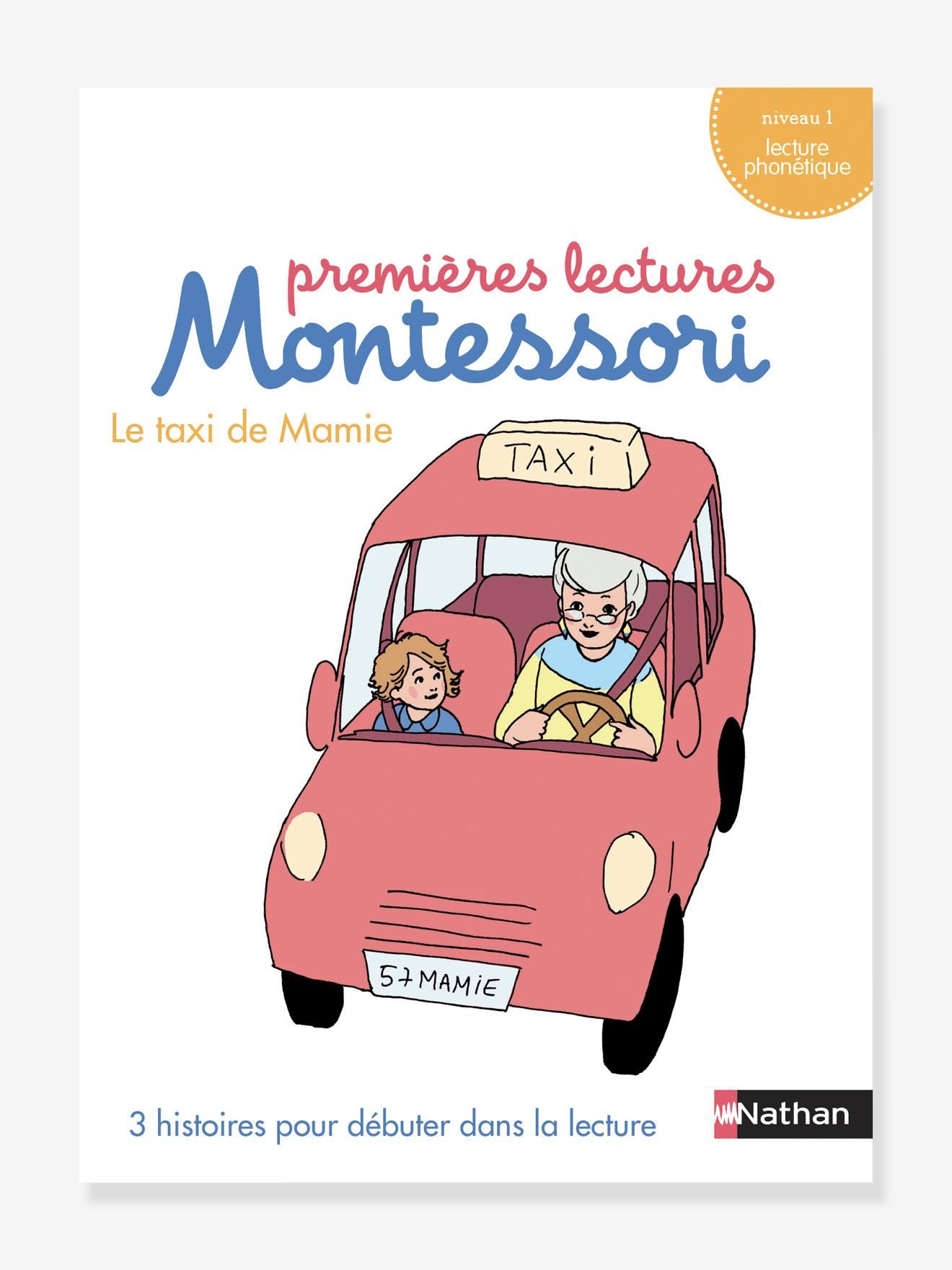 Coffret éducatif Premières lectures Montessori NATHAN - Le taxi de mamie, niveau 1