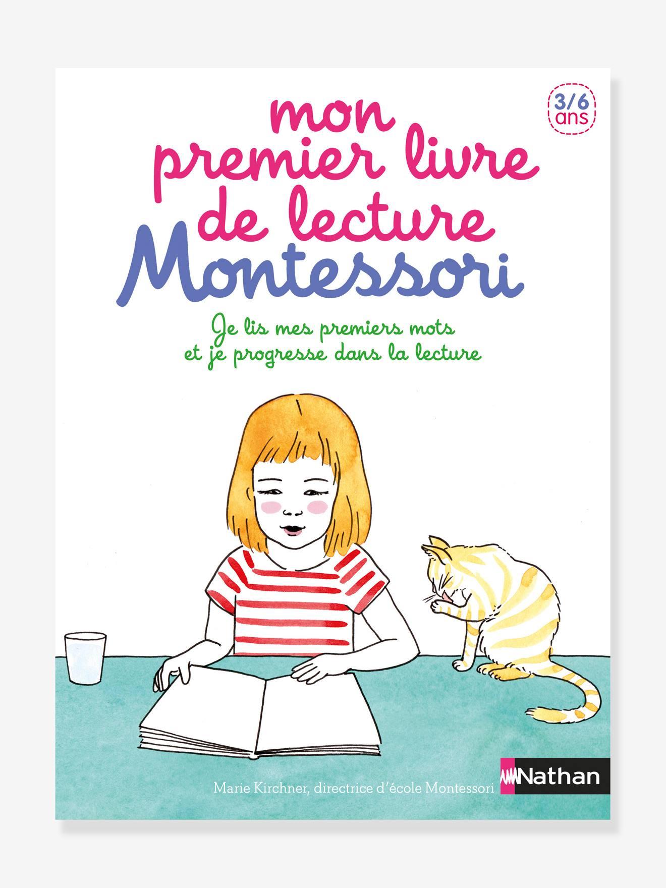 Livre éducatif Mon premier livre de lecture Montessori NATHAN