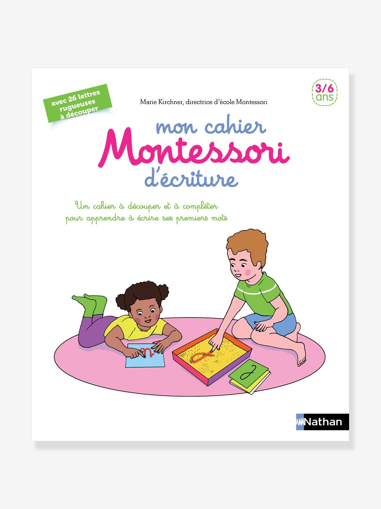 Livret éducatif Mon cahier Montessori d'écriture NATHAN
