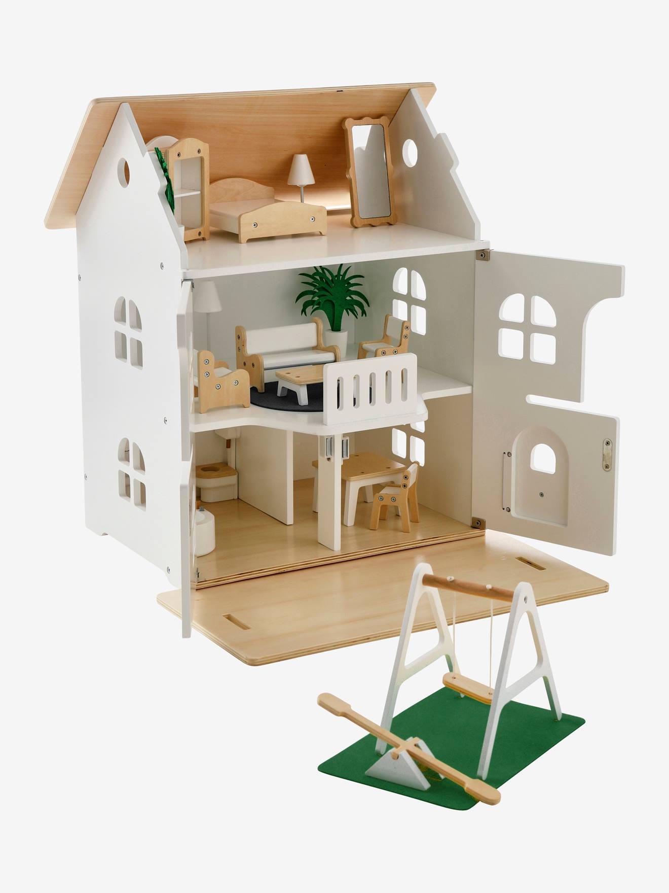 Maison romantique des amis des petits + mobilier blanc