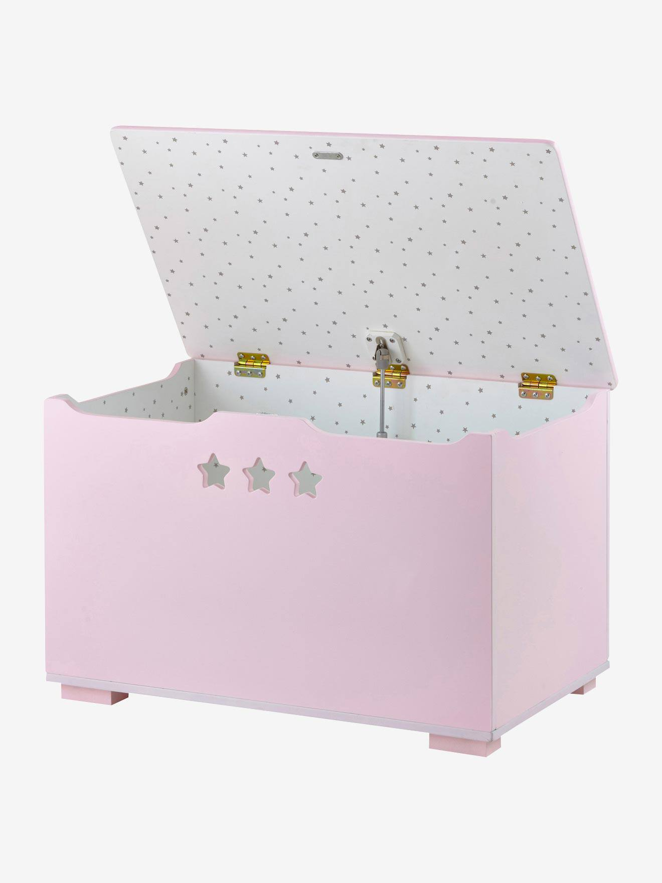 caisse de rangement jouet great coffre jouets coffre de rangement elisa pin massif lasur blanc. Black Bedroom Furniture Sets. Home Design Ideas