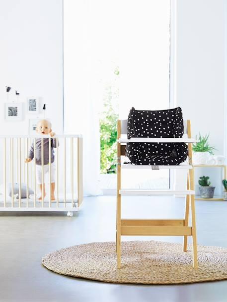 chaise haute en bois vertbaudet magicpouss gris vertbaudet. Black Bedroom Furniture Sets. Home Design Ideas