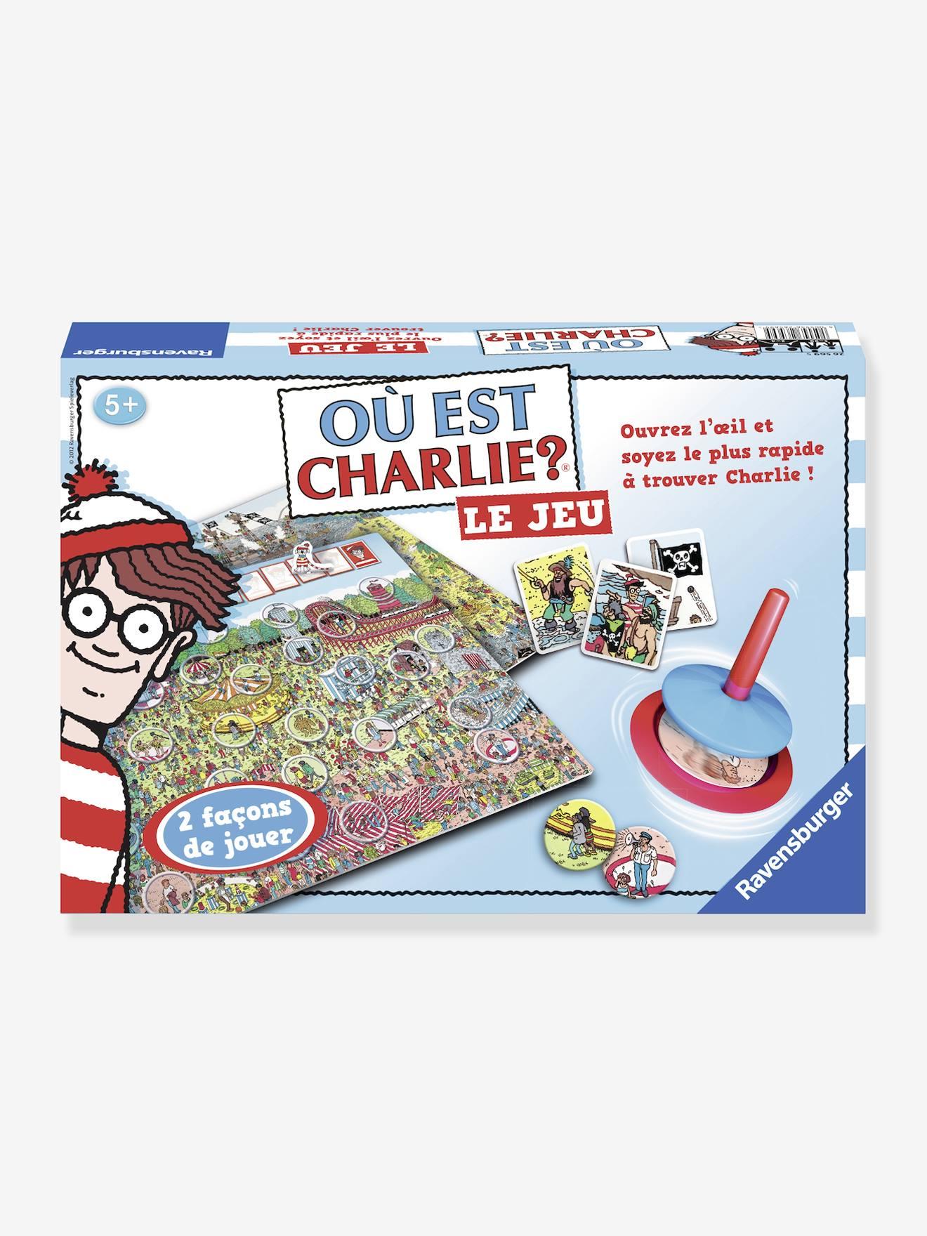 Où est Charlie? Le jeu RAVENSBURGER bleu