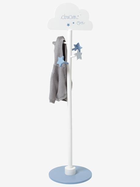 Portemanteau Enfant Nuage Blanc Bleu Vertbaudet - Porte menteau