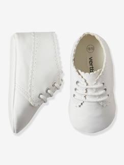 d32159b31eeb8 Chaussures-Chaussures bébé 16-26-Naissance-Bottillons souples bébé à lacets  nouveau