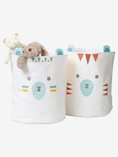 Collection Outdoor-Lot de 2 paniers Ours sioux