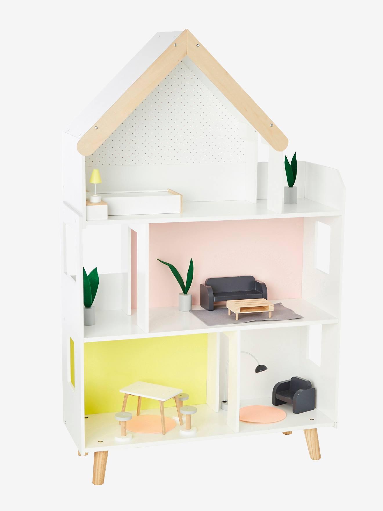 Maison De Poupee Mannequin Multicolore Vertbaudet