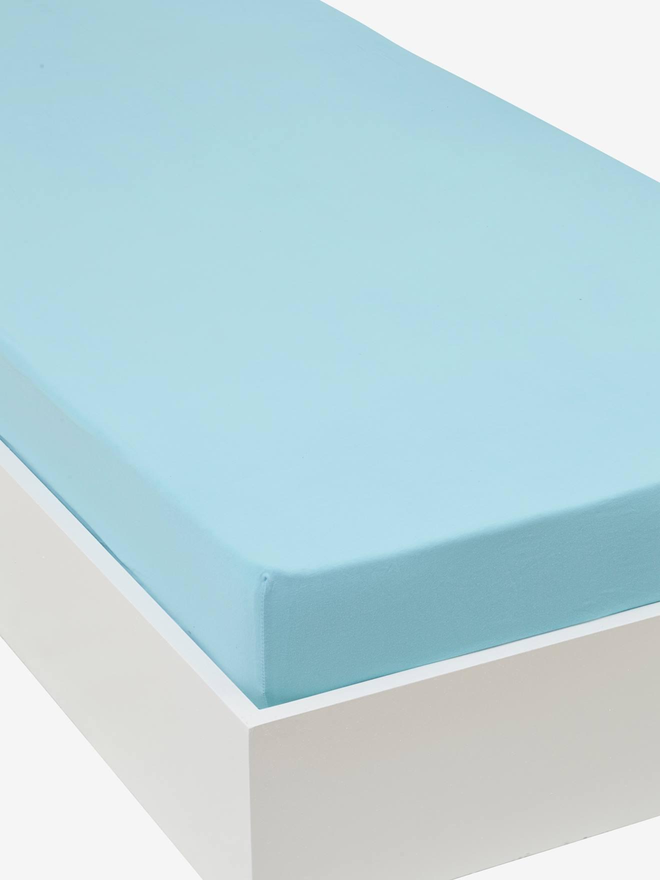 drap housse 110x190 amazing draphousse en pur lin lav la redoute interieurs with drap housse. Black Bedroom Furniture Sets. Home Design Ideas