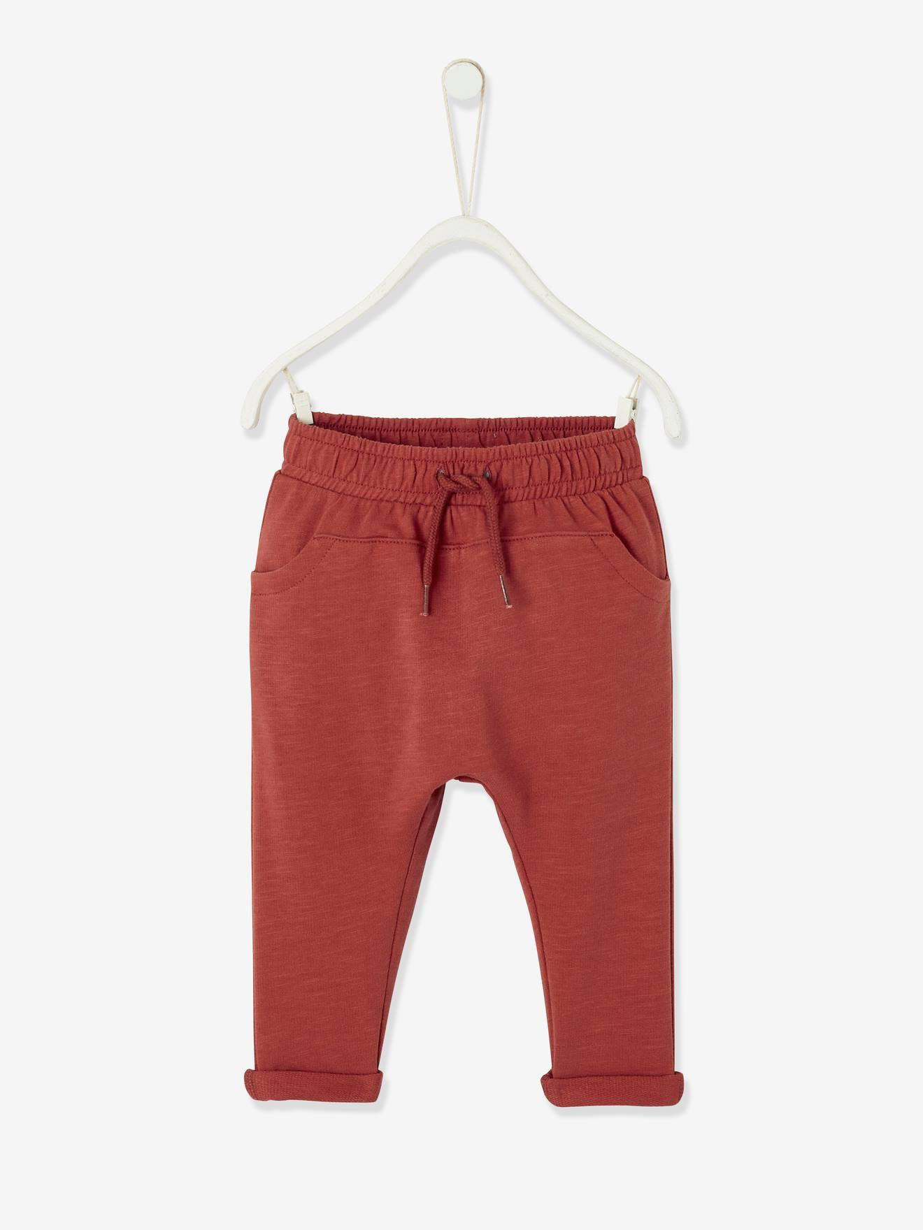 Vertbaudet Pantalon Molleton b/éb/é gar/çon uni