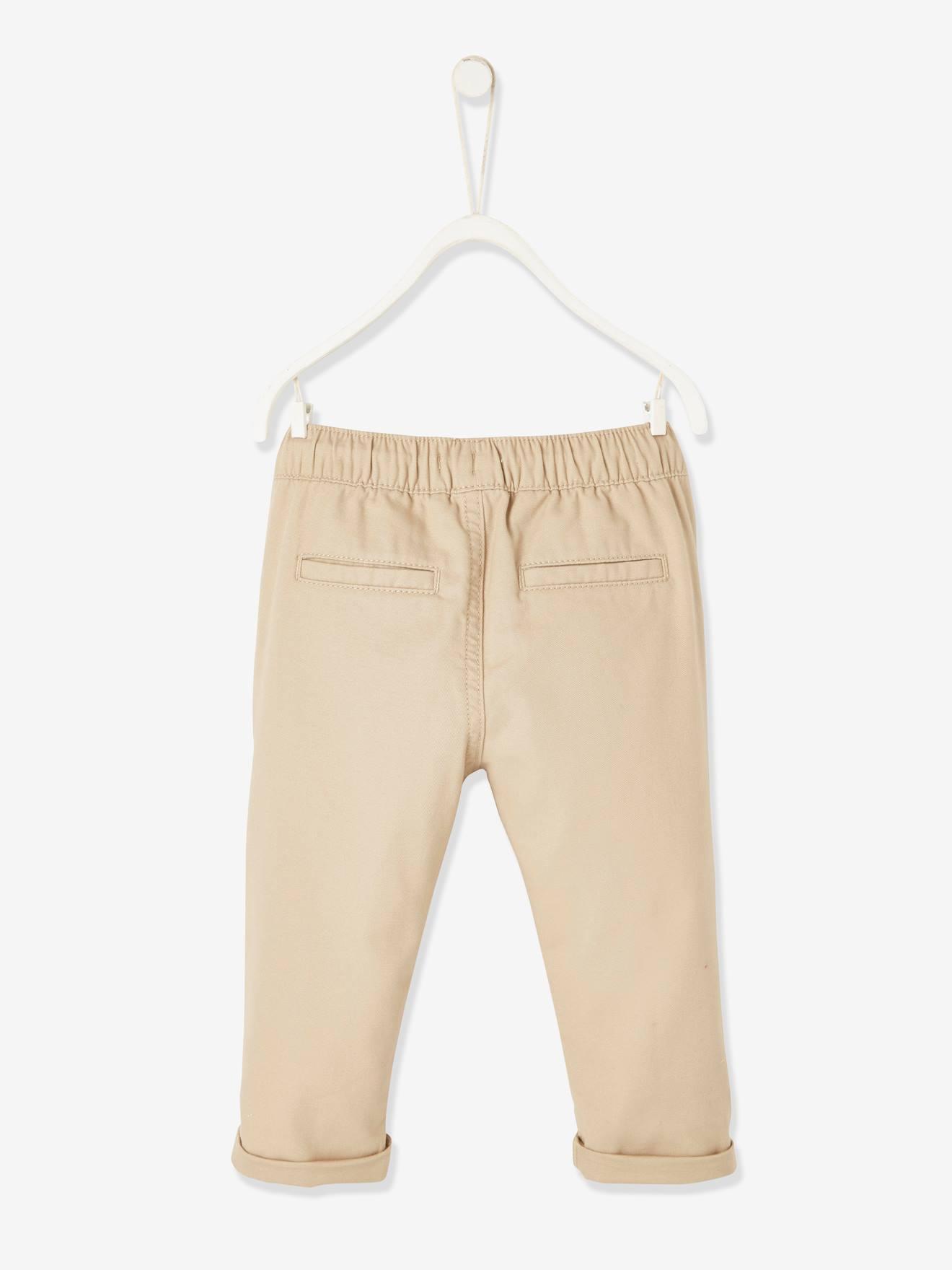 Vertbaudet Pantalon imprim/é b/éb/é Taille /élastiqu/ée