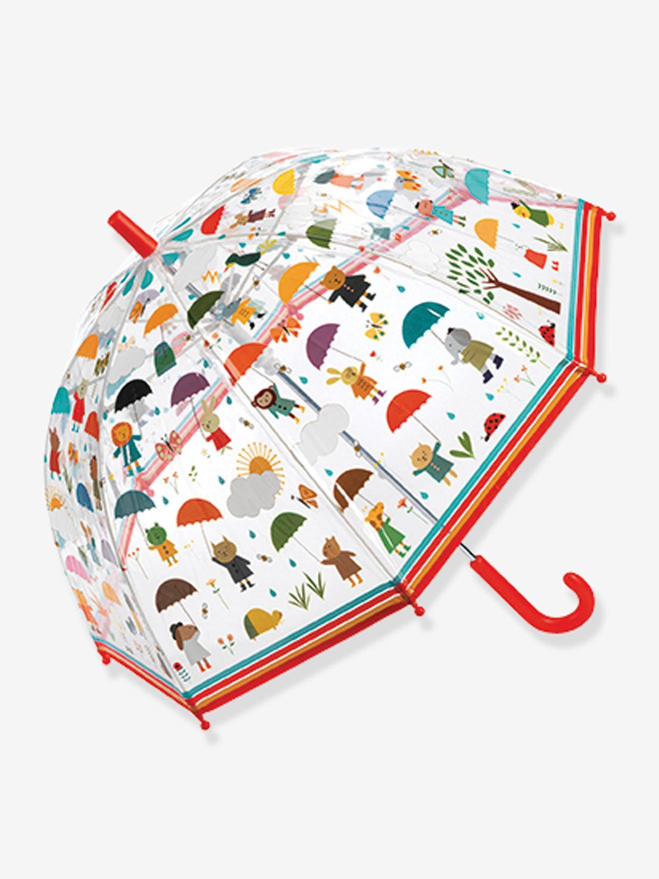 Parapluie Sous la pluie DJECO rouge
