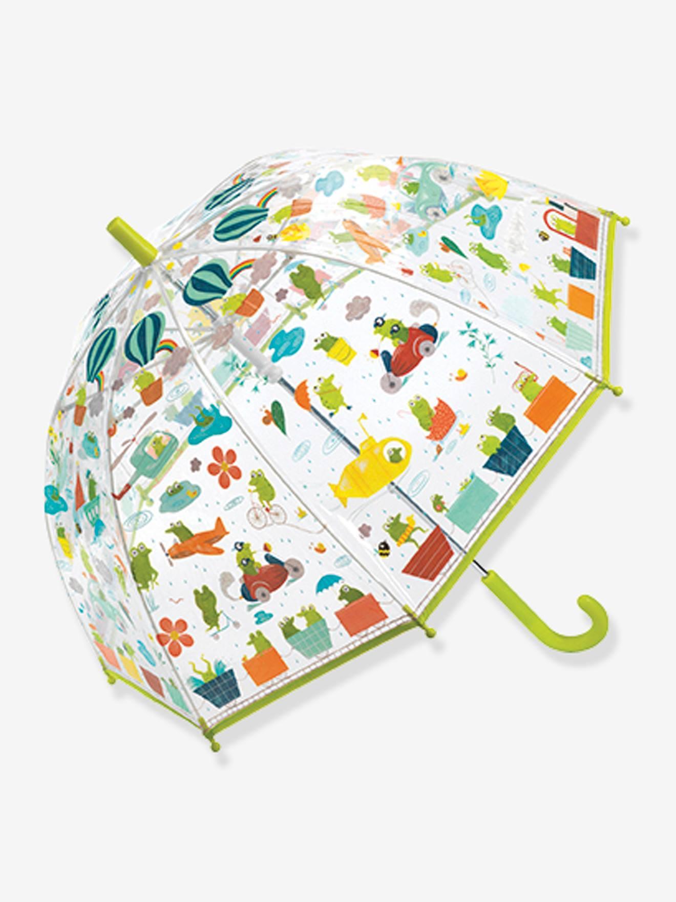 Parapluie Grenouillettes DJECO vert