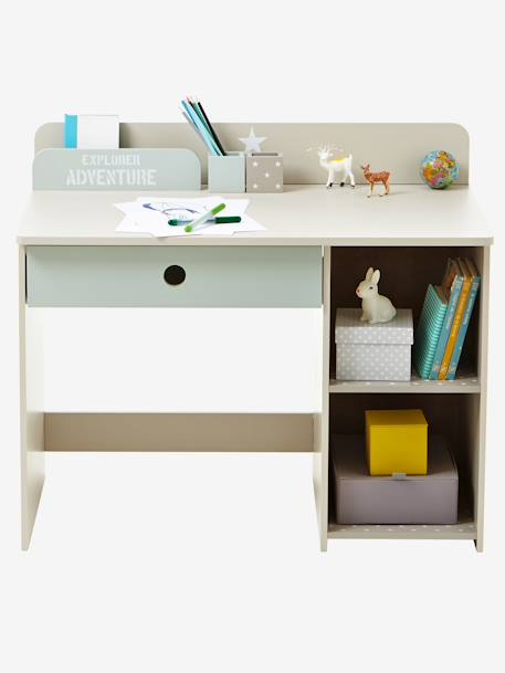 bureau sp cial maternelle safari vert vertbaudet. Black Bedroom Furniture Sets. Home Design Ideas