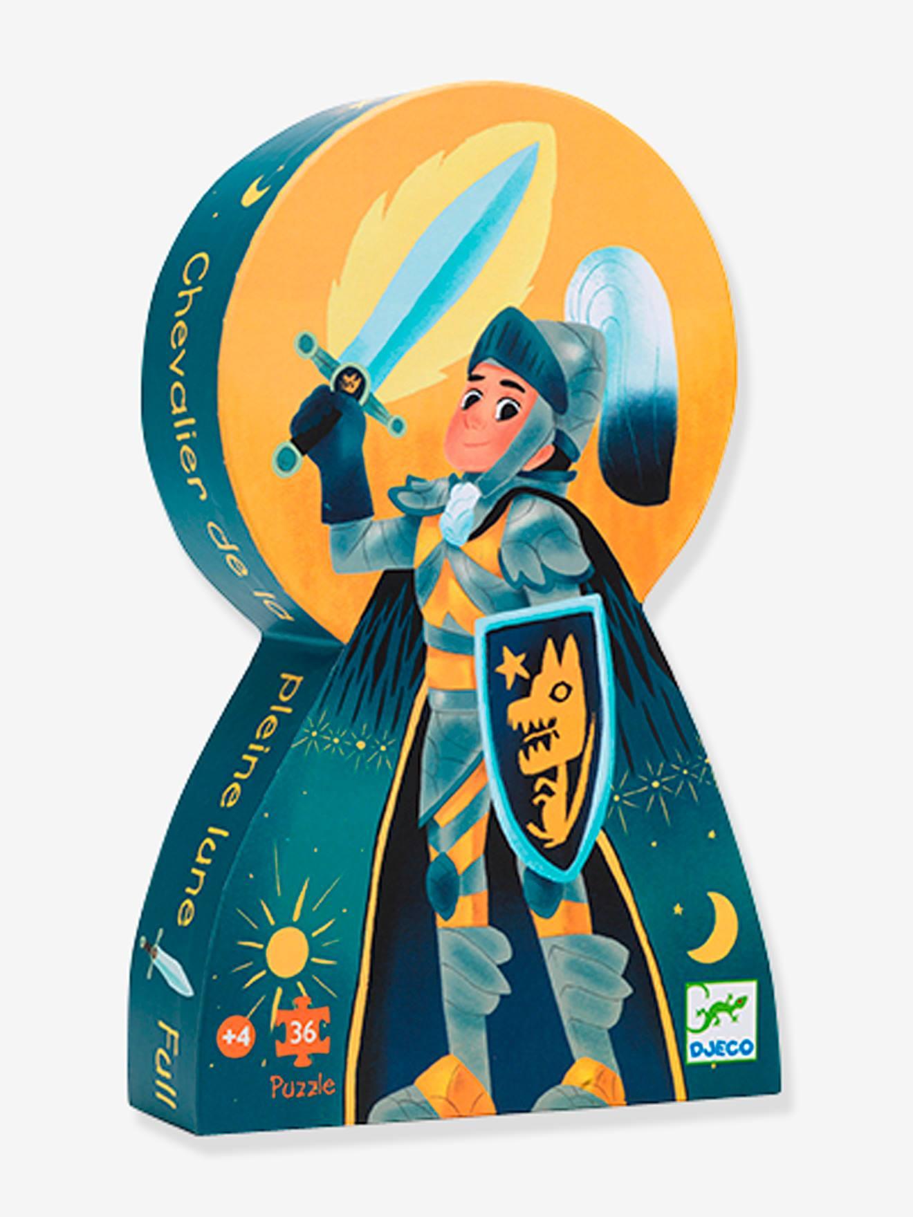 Puzzle Le Chevalier de la pleine lune 36 pièces DJECO bleu