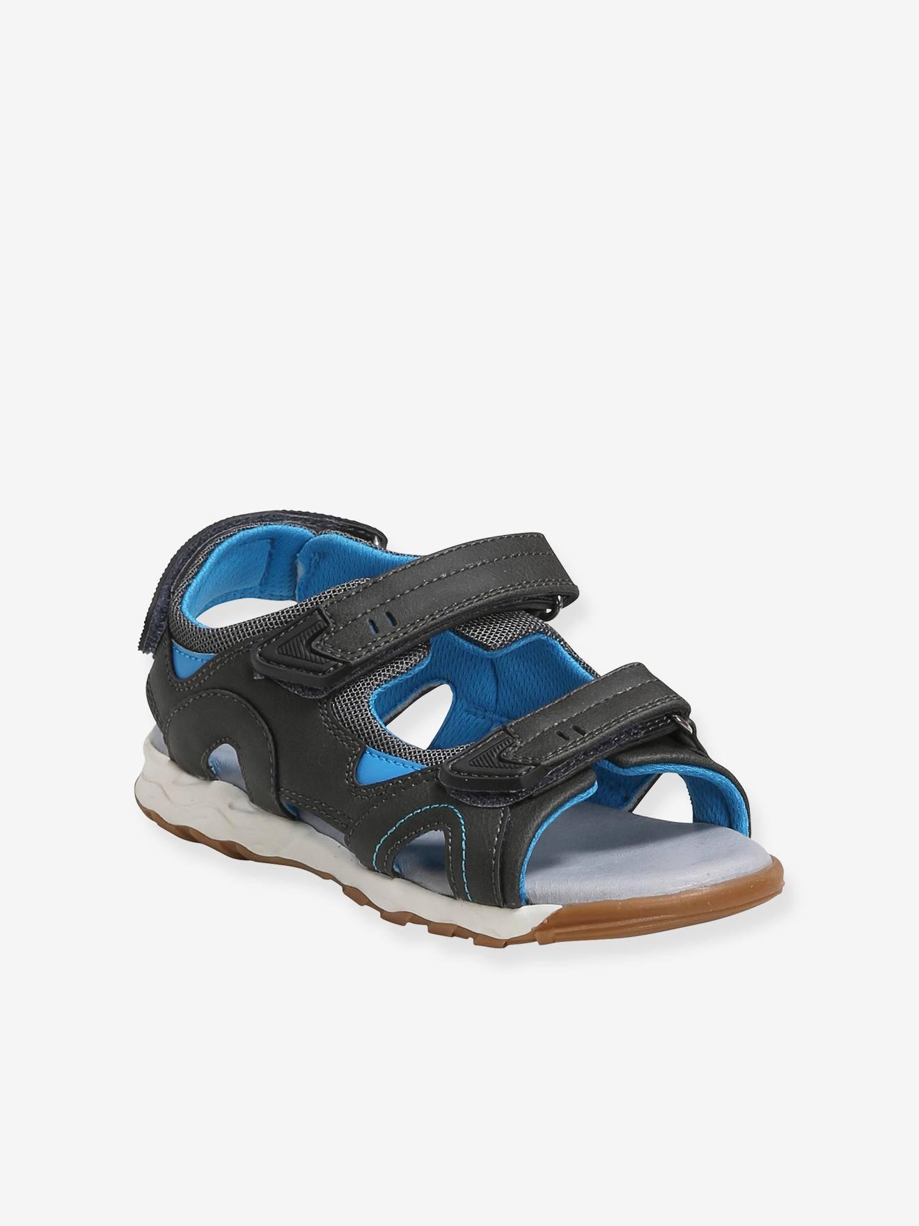 Sandales tout terrain garçon gris