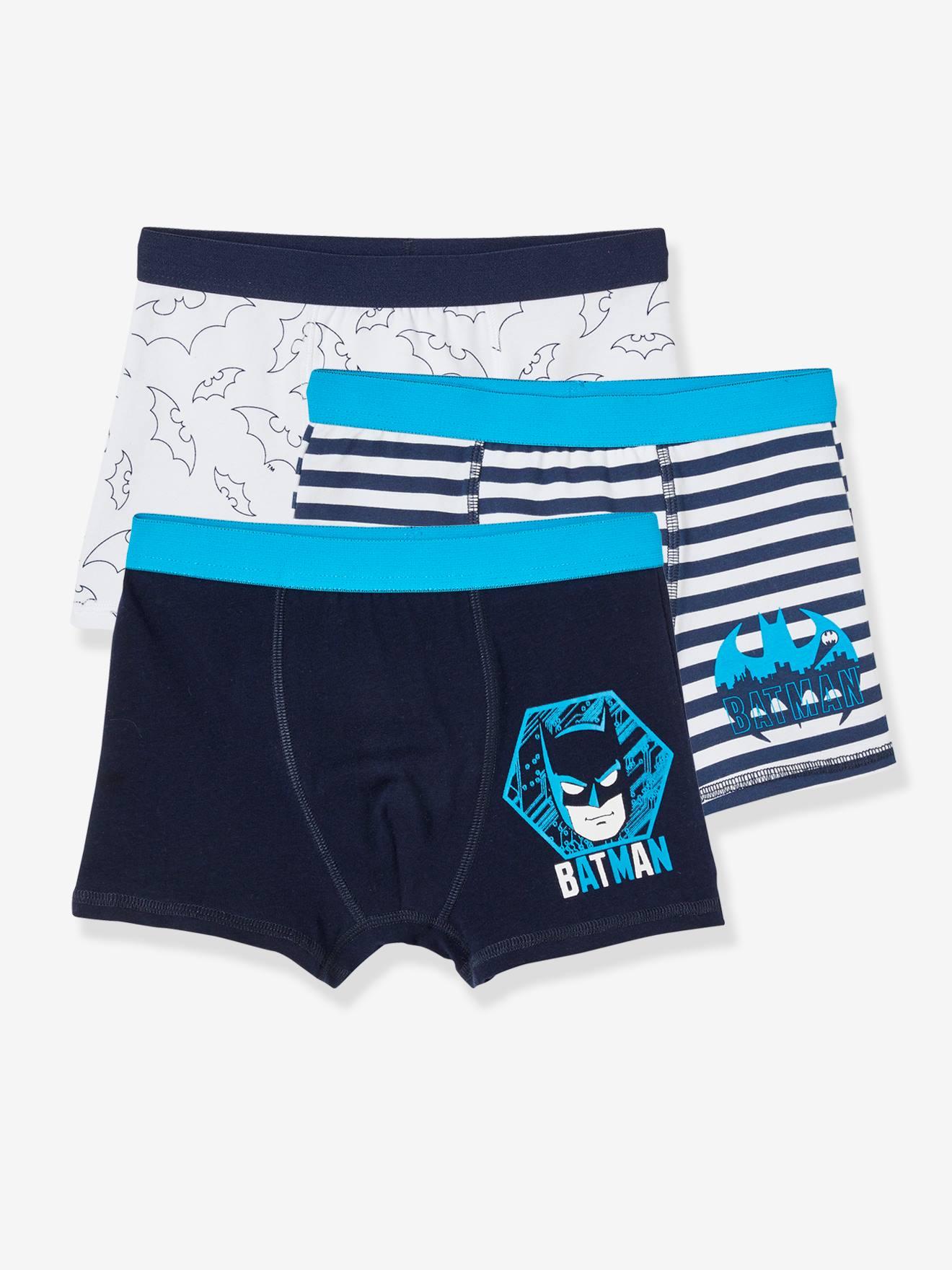 Lot de 3 boxers garçon Batman® dark bleu indigo
