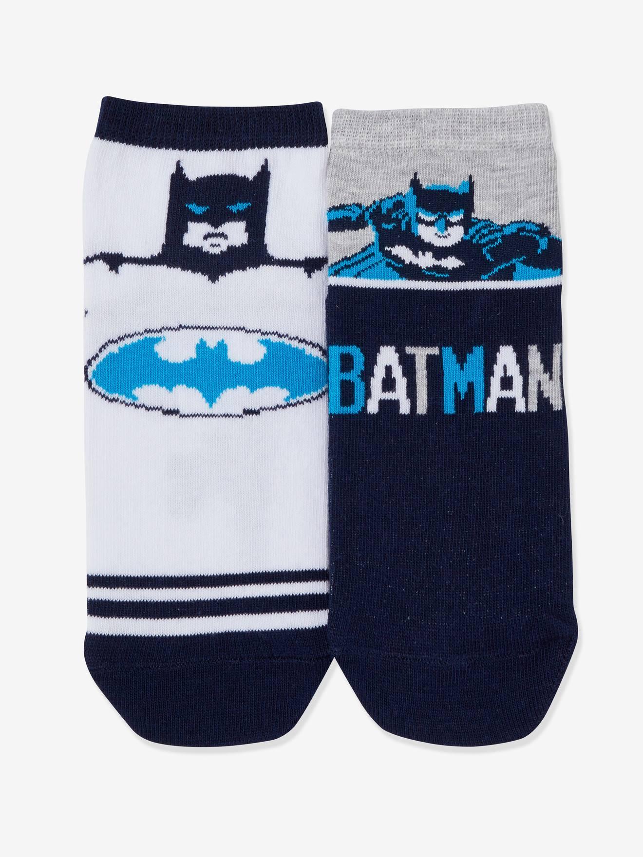 Lot de 2 paires de chaussettes Batman® blanc