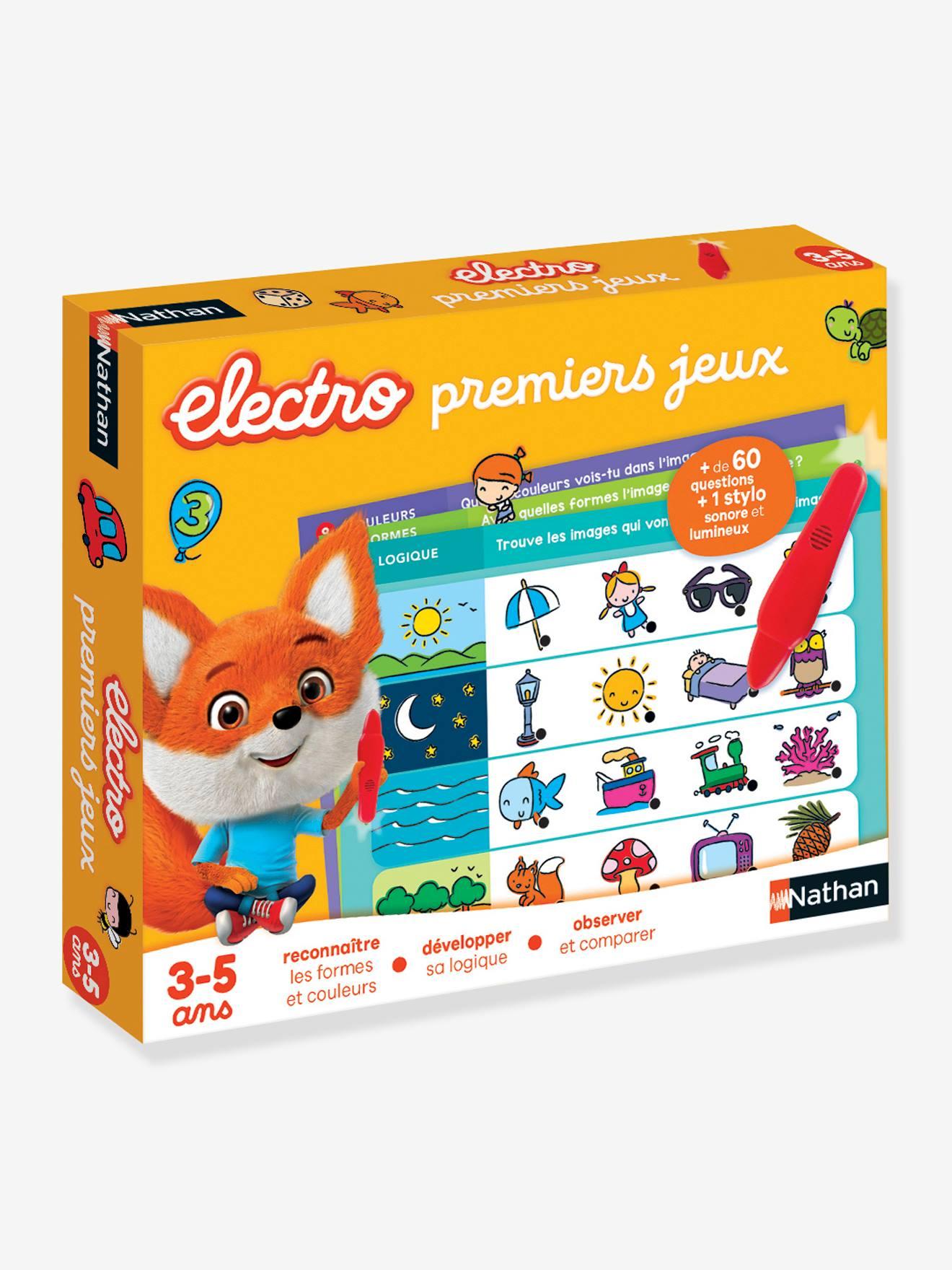 Électro Premiers Jeux - NATHAN multicolor