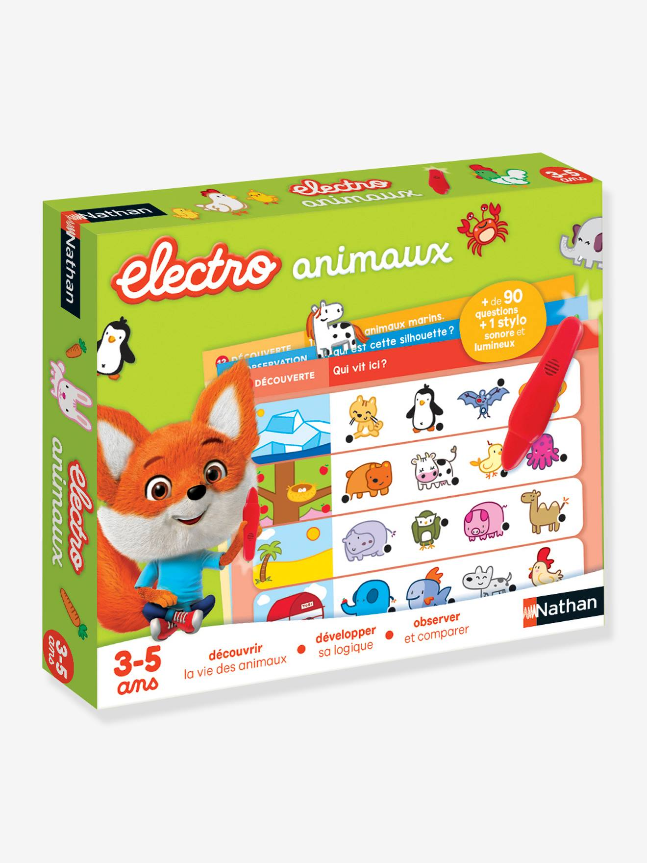 Électro animaux - NATHAN multicolor