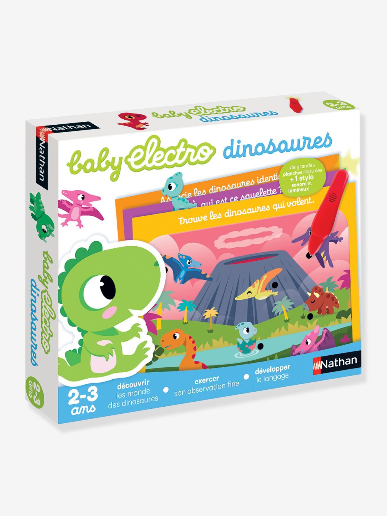 Coffret Baby électro mon dinosaure - NATHAN multicolor
