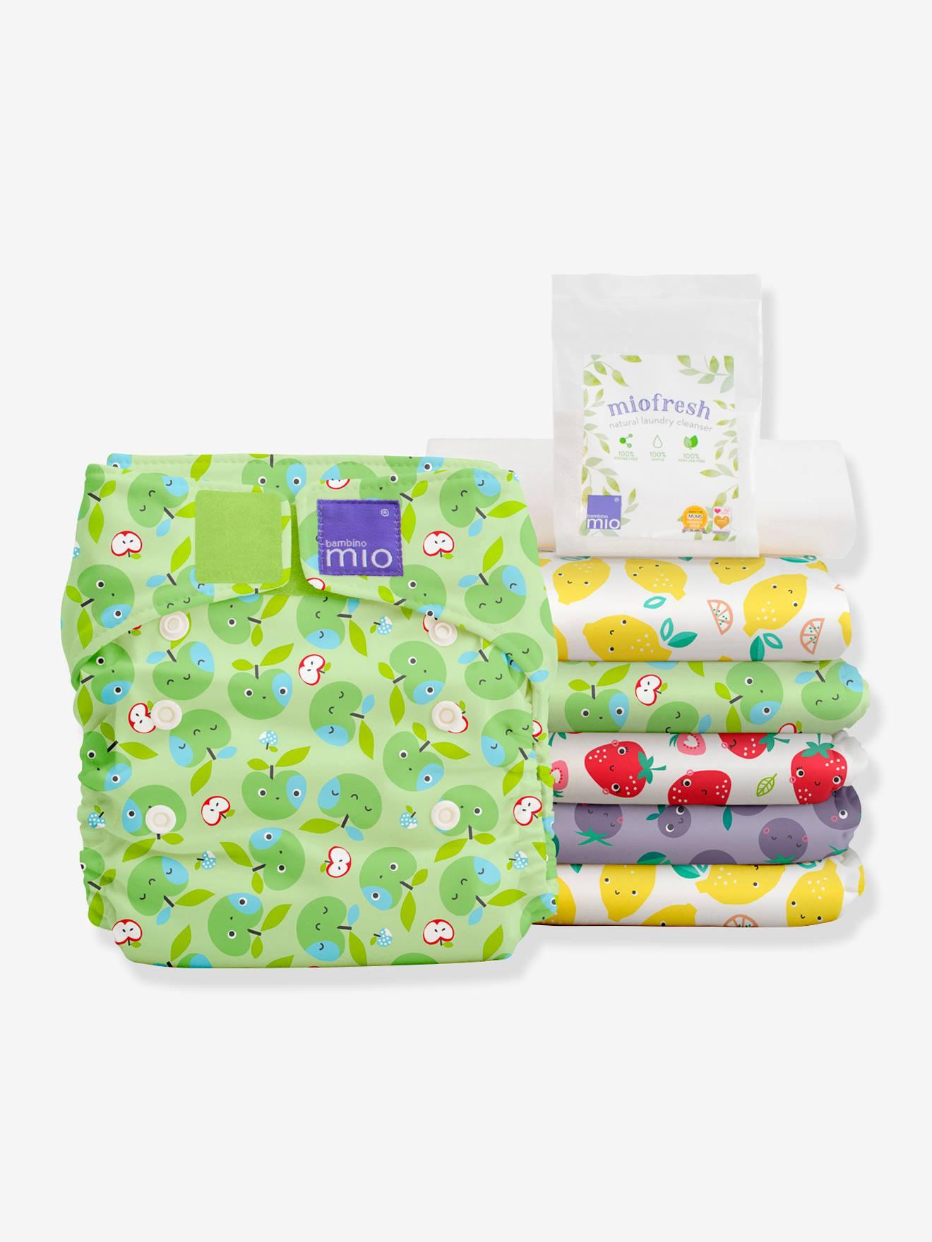 Miosolo pack de couches lavables BAMBINO MIO panier fruite