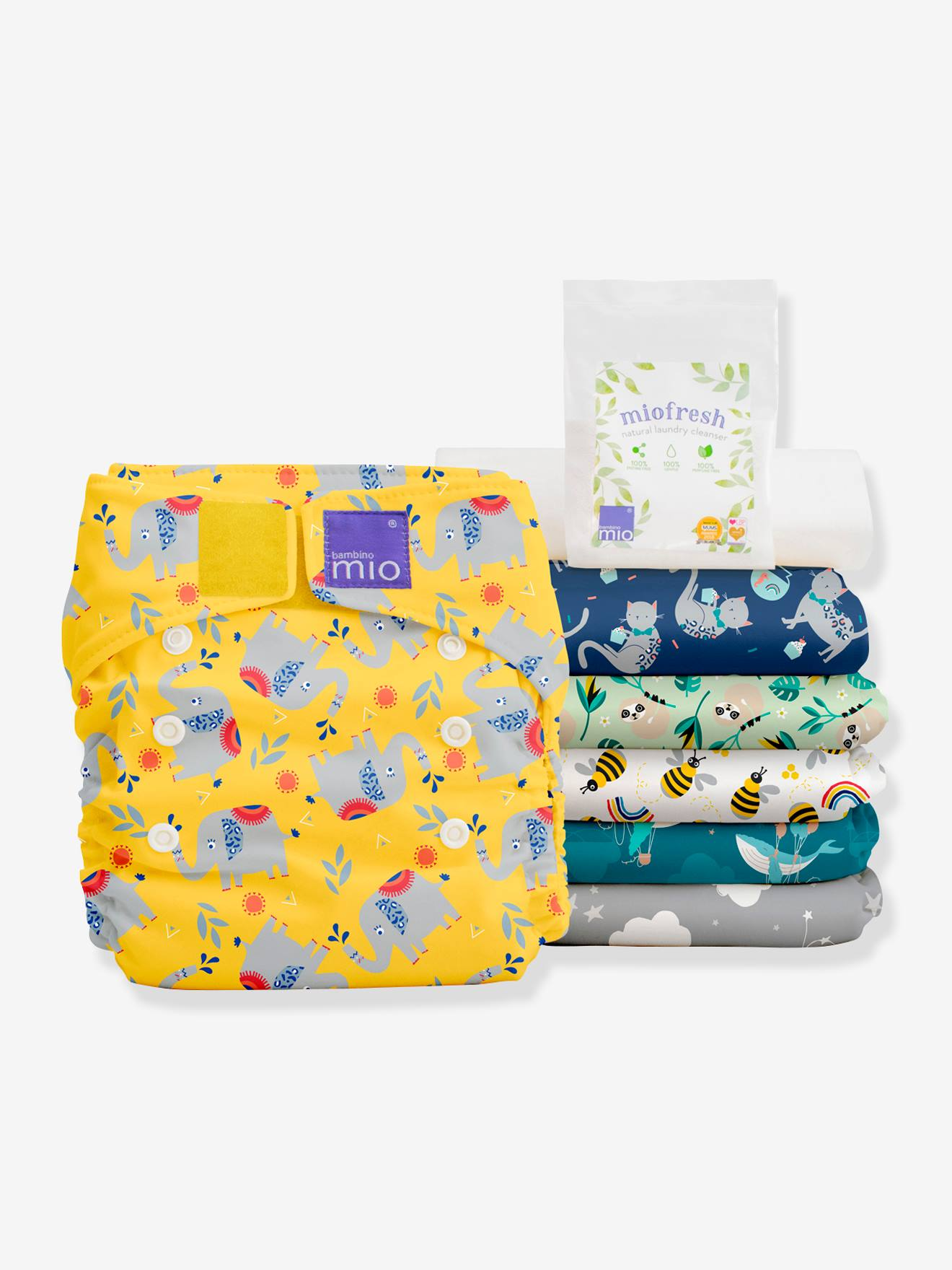 Miosolo pack de couches lavables BAMBINO MIO favoris