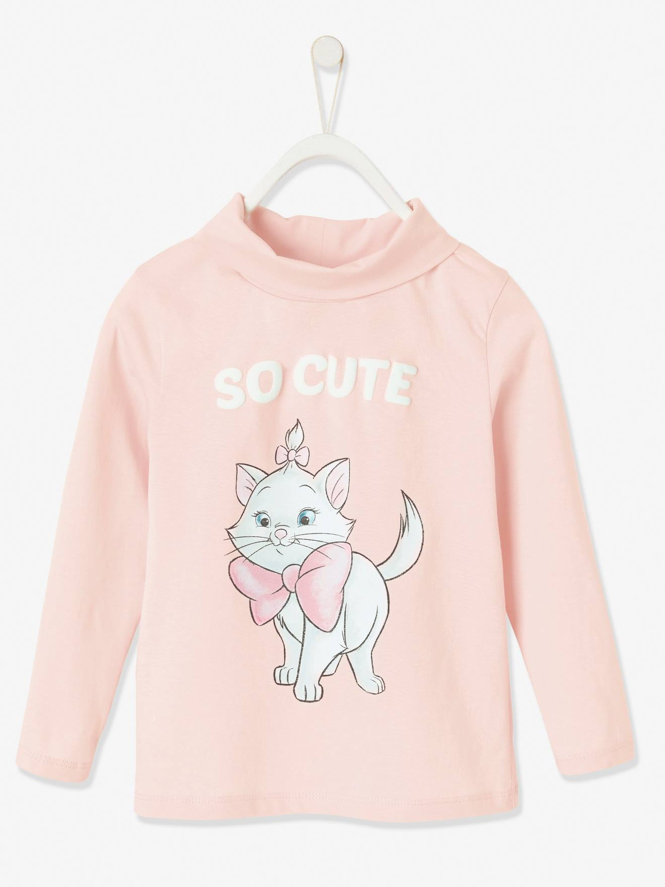 Sous-pull fille Disney® Marie Les Aristochats rose