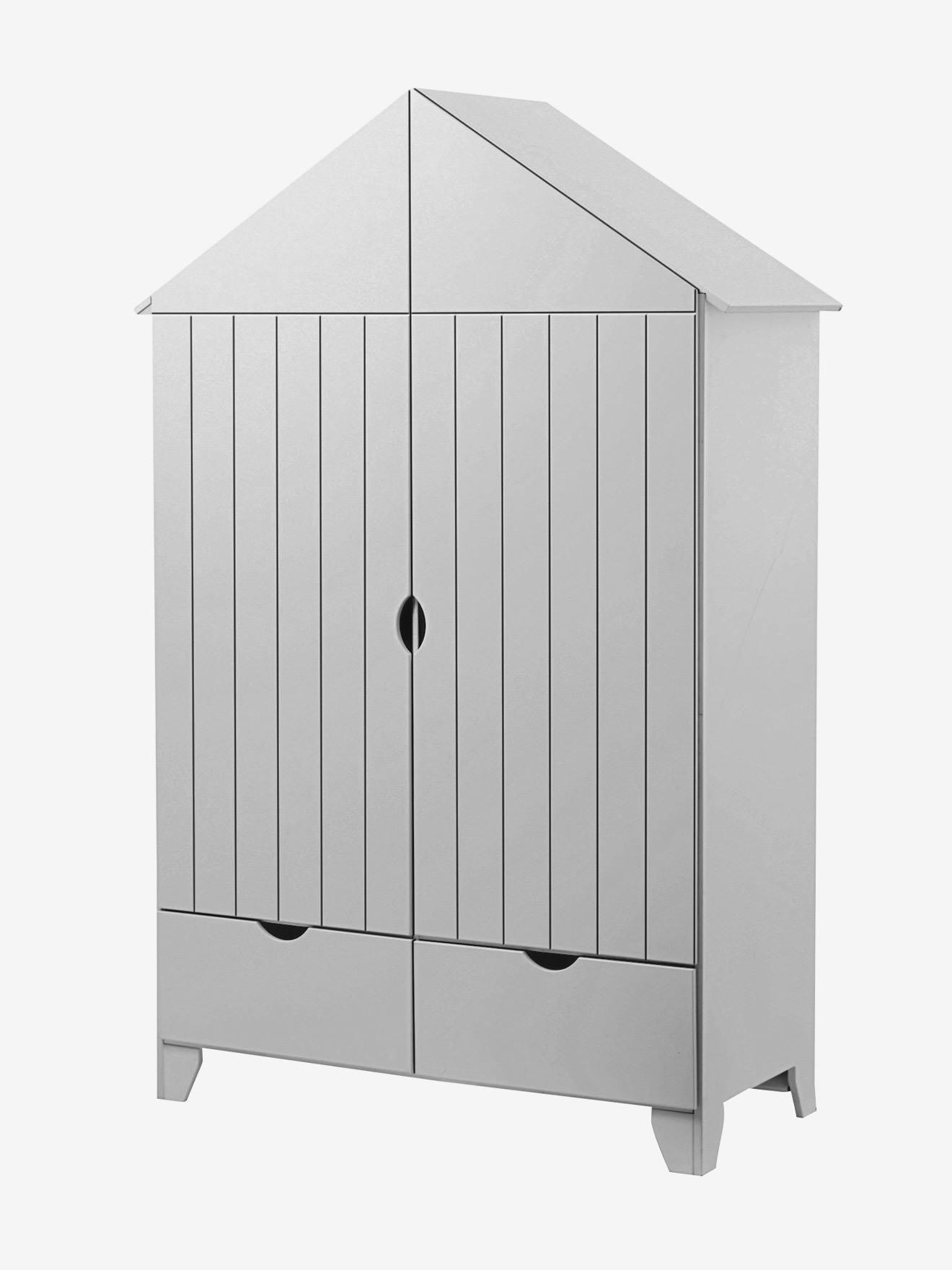 Armoire 2 portes Holidays XL blanc - Vertbaudet