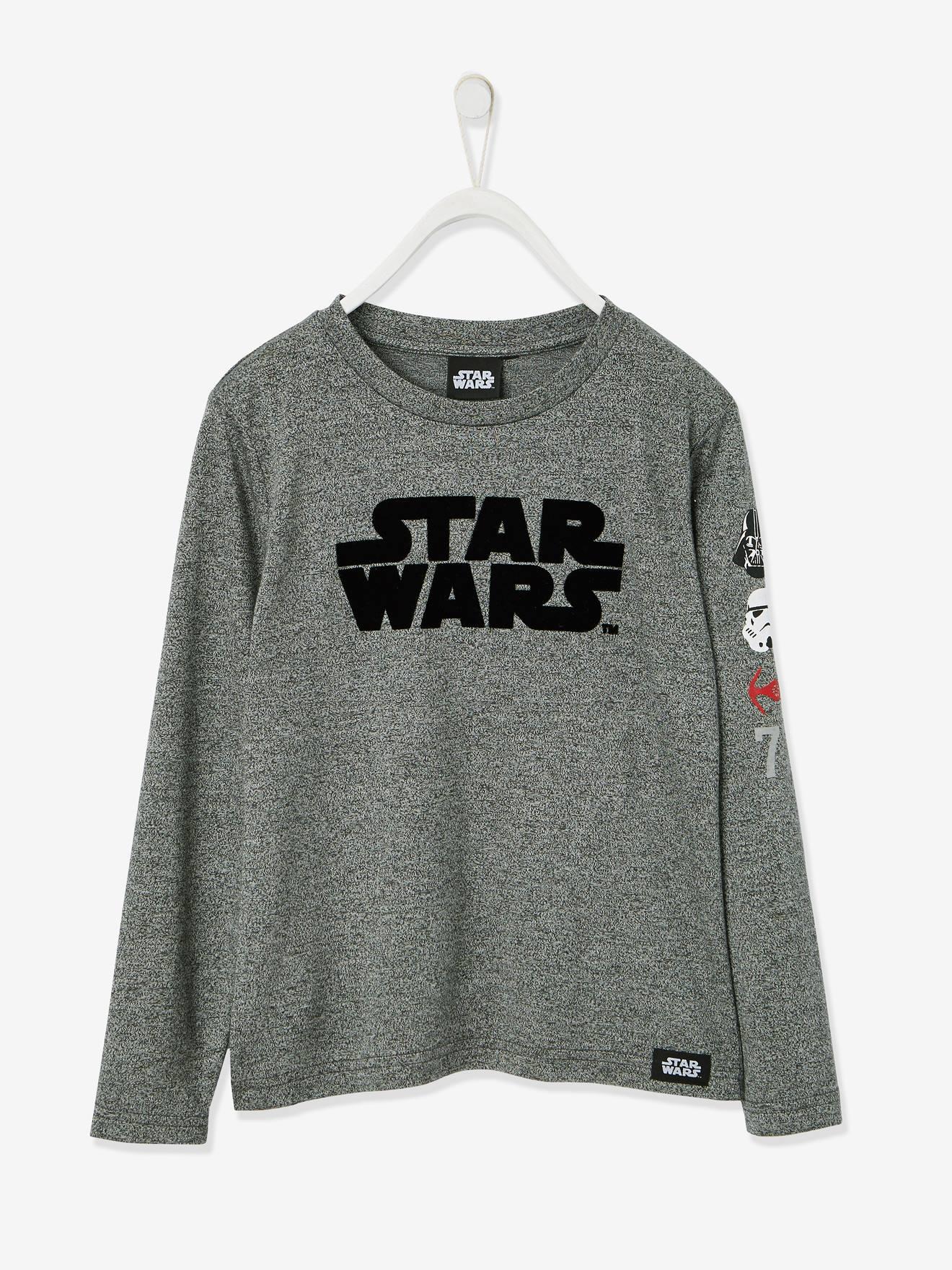 SOLDES - T-shirt garçon Star Wars® manches longues noir
