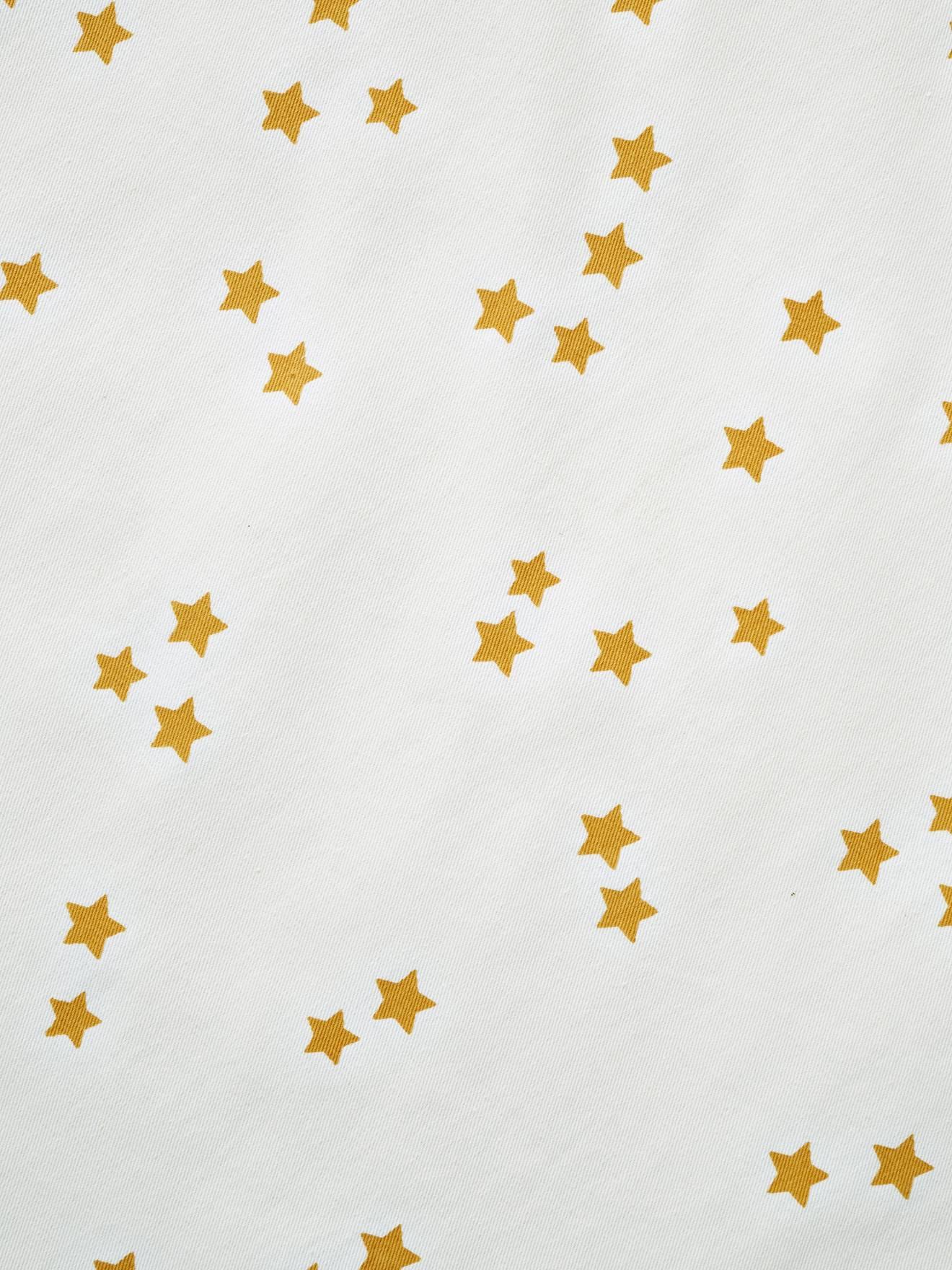 Tapis De Sol Rond Pour Tipi Blanc Moutarde Imprime Vertbaudet