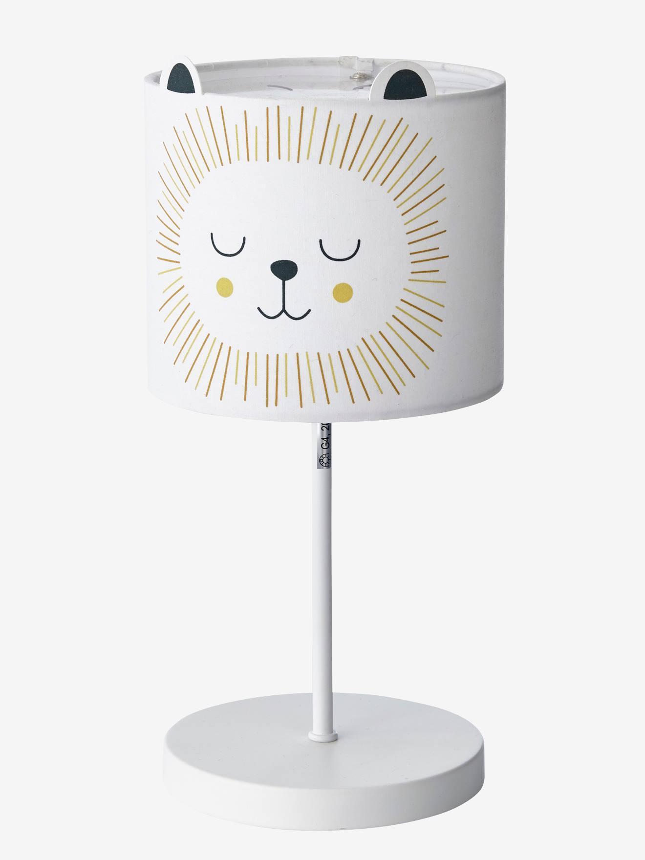 Monter Une Lampe De Chevet lampe de chevet lion beige - vertbaudet