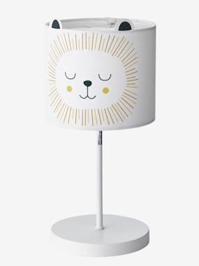 Lampe de chevet Lion beige vertbaudet