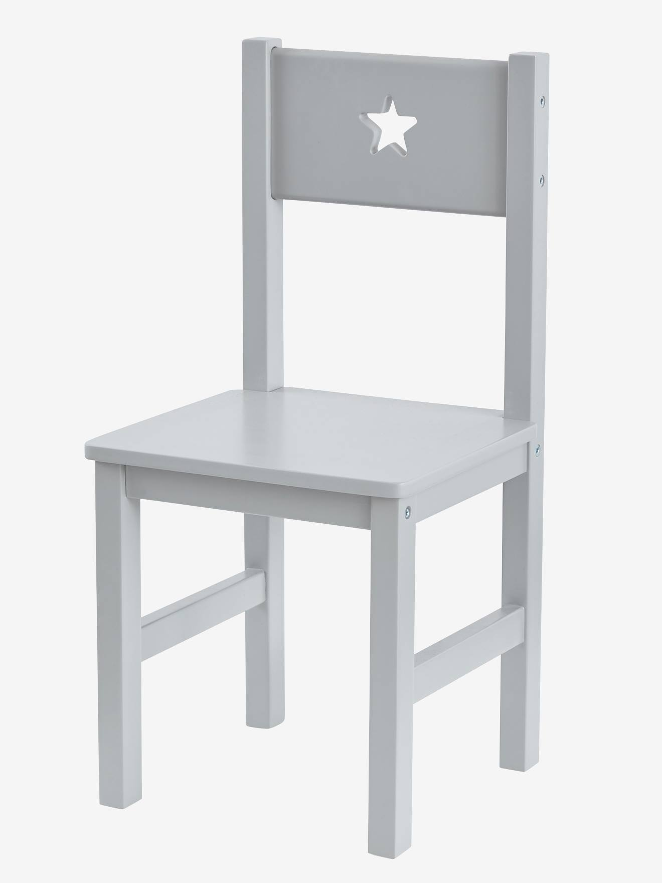 Chaise maternelle, assise H. 30 cm LIGNE SIRIUS gris