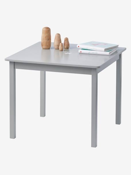 Table de jeu enfant sirius gris vertbaudet for Table 6 jeux en 1
