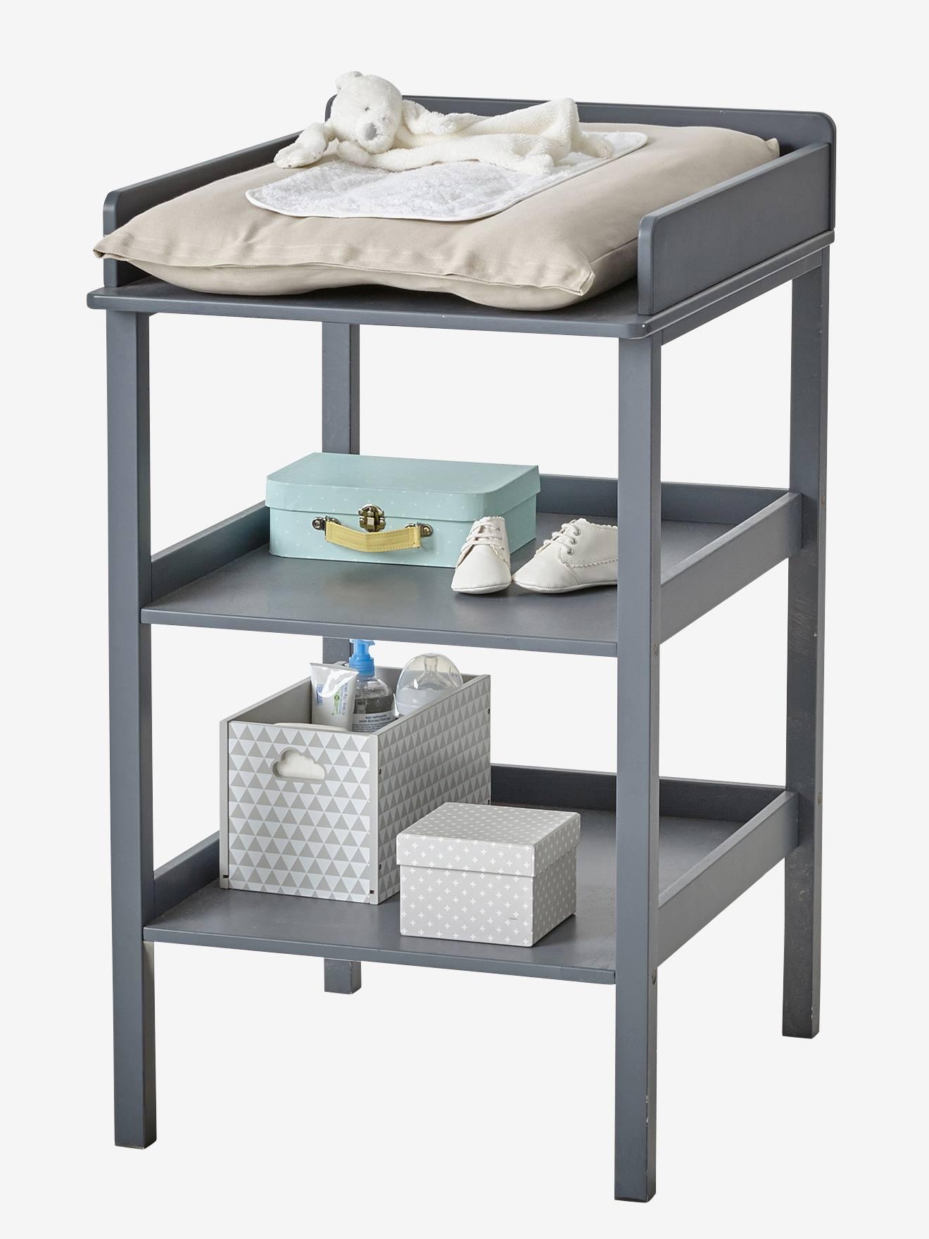 Table À Langer Petite table à langer ligne madison gris - vertbaudet