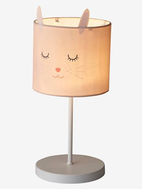 lampe de chevet lapin rose vertbaudet. Black Bedroom Furniture Sets. Home Design Ideas