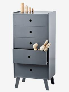 Collection mobilier madison-Commode haute 5 tiroirs Madison
