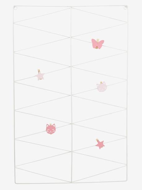 p le m le graphique en m tal blanc vertbaudet. Black Bedroom Furniture Sets. Home Design Ideas