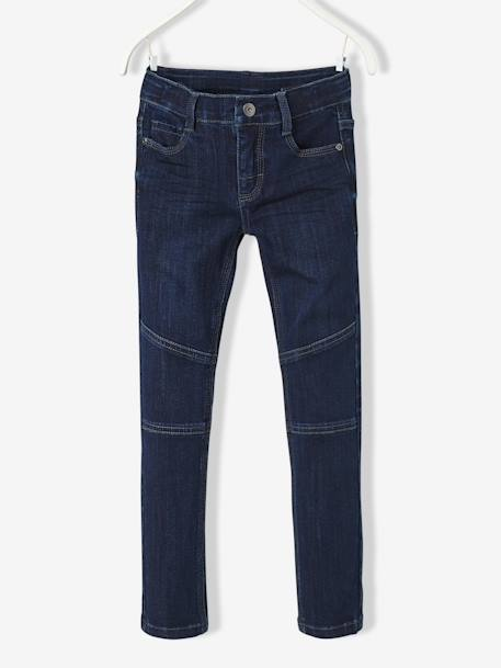 Jean slim garçon ultra-stretch Denim brut 1 - vertbaudet enfant