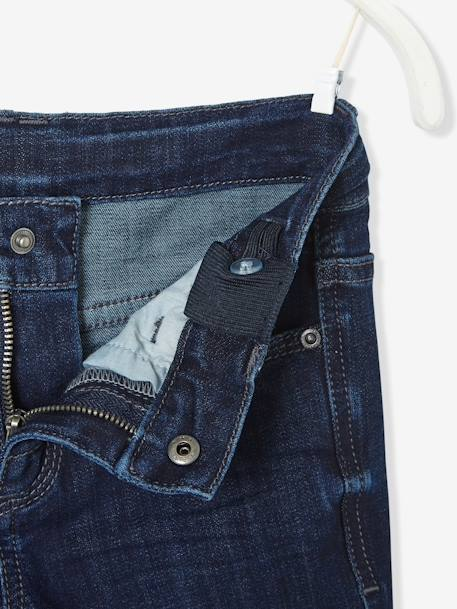 Jean slim garçon ultra-stretch Denim brut 3 - vertbaudet enfant