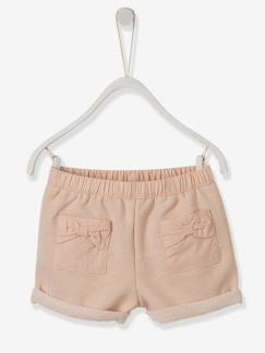 Outlet-Short bébé fille molleton irisé