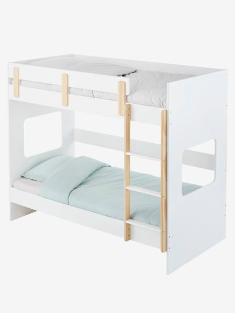 lits superpos s ligne everest blanc bois vertbaudet. Black Bedroom Furniture Sets. Home Design Ideas