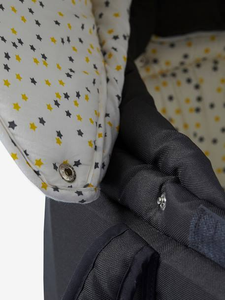 couffin souple vertbaudet anthracite toiles vertbaudet. Black Bedroom Furniture Sets. Home Design Ideas